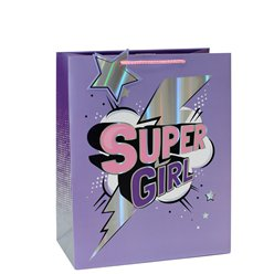 Borsa da regalo Super Girl - 25 cm