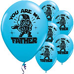 "Palloncini in lattice Star Wars ""You Are My Father"" - 28 cm"