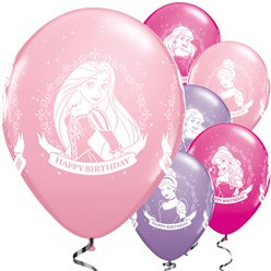 Palloncini in lattice Principesse Disney - 28 cm