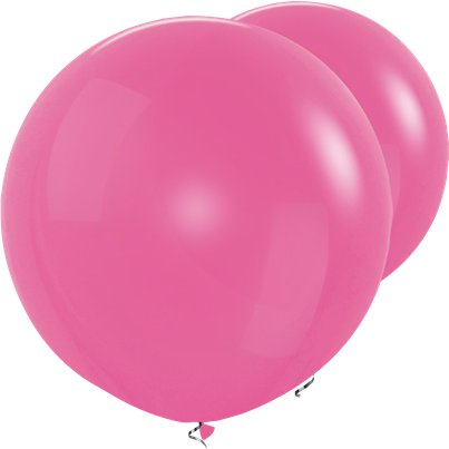 Palloncini in lattice giganti fucsia - 91 cm
