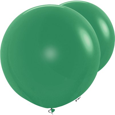 Palloncini in lattice giganti verde scuro - 91 cm