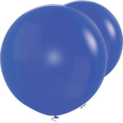 Palloncini in lattice giganti blu - 91 cm