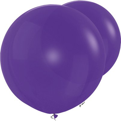 Palloncini in lattice giganti viola - 91 cm