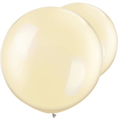 Palloncini in lattice giganti avorio perla - 76 cm