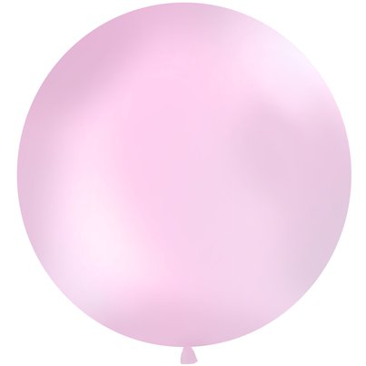 Palloncino in lattice gigante rosa pastello - 1 m