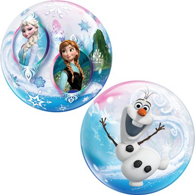 Frozen Disney - Palloncino Bubble 56 cm