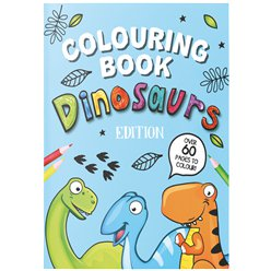 Album da colorare con dinosauri