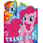 Cartoline di ringraziamento My Little Pony