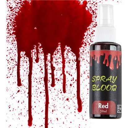 Sangue finto in spray - 59 ml - Accessori per Costumi di Carnevale front