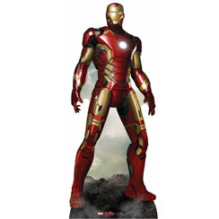 Sagoma di cartone Iron Man - 193 cm