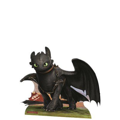 Sagoma di cartoncino Sdentato Dragon Trainer mini - 61 cm x 78 cm