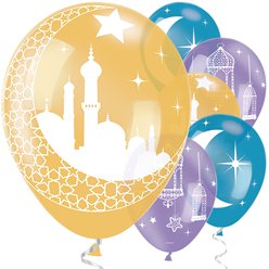 Palloncini in lattice per Eid - 28 cm