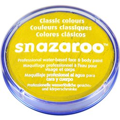 Pittura per viso Snazaroo giallo brillante - 18 ml