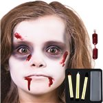 Kit di Trucco da Zombie - Face painting