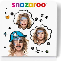 Mini Kit per face painting da Pirata Snazaroo