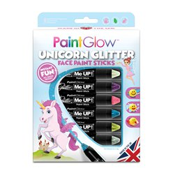 Set trucchi in stick con glitter da unicorno