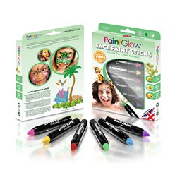 Set di colori per face painting in stick Regno animale