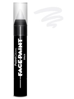 Colore in stick per face painting - Bianco 3,5 gr