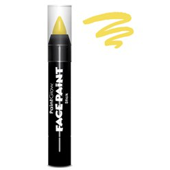 Colore in stick per face painting - Giallo 3,5 gr