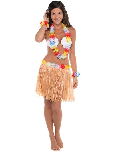 Hula Hawaiana - Costume Adulto