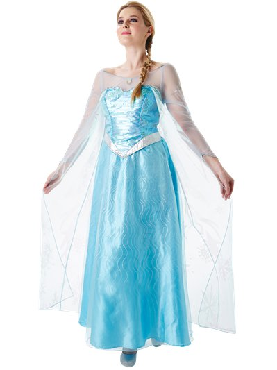 Elsa Frozen Disney - Costume adulto