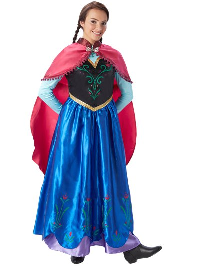 Anna Frozen Disney - Costume adulto