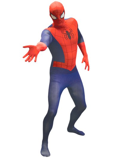 Tuta intera da Spider-Man deluxe - Costume adulto