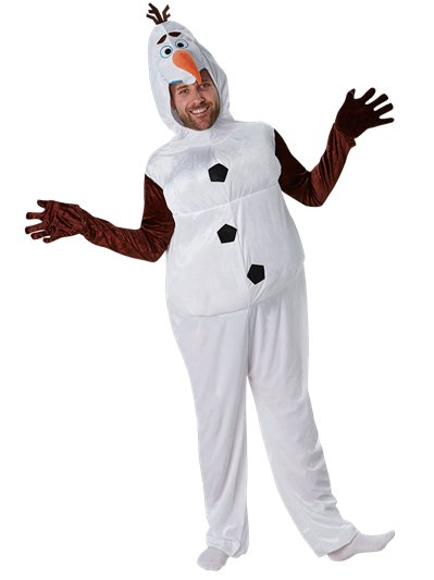 Olaf Frozen Disney - Costume Adulto