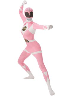 Power ranger rosa aderente