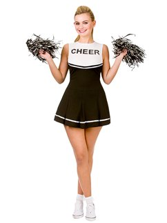 Cheerleader liceale Nero