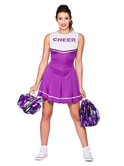 Cheerleader Liceo Colore Viola