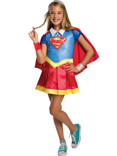 Supergirl Deluxe - Costume Bambina