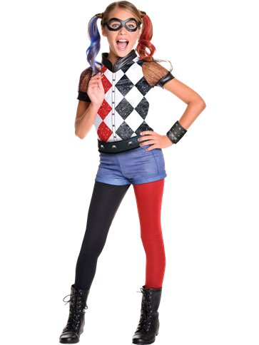 Harley Quinn Deluxe - Costume Bambino front bd92eabe3eda