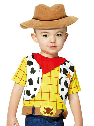 Woody - Costume Baby side