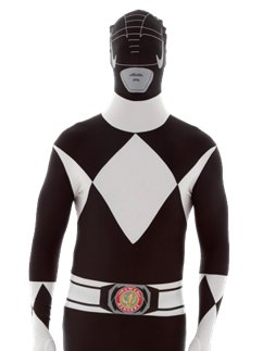 Morphsuit da Power Ranger Nero