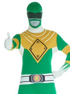 Morphsuit da Power Ranger Verde