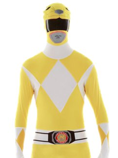 Morphsuit da Power Ranger Giallo