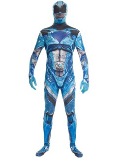Morphsuit blu del film Power Rangers