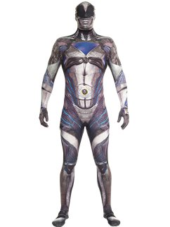Morphsuit nera del film Power Rangers