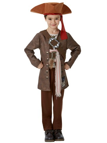Jack Sparrow deluxe - Costume Bambino front