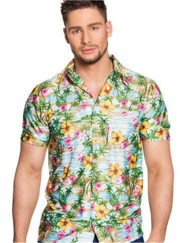Camicia Paradiso tropicale - Adulti front