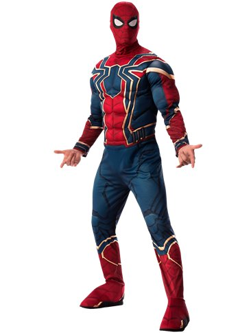 Spider Man Infinity War deluxe - Costume adulto front