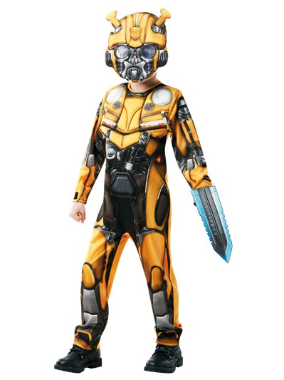 Bumblebee Transformer deluxe 3-4 anni