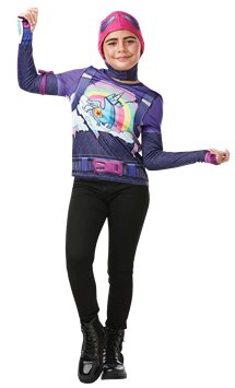 Set costume Brite Bomber Fortnite - Costume bambina