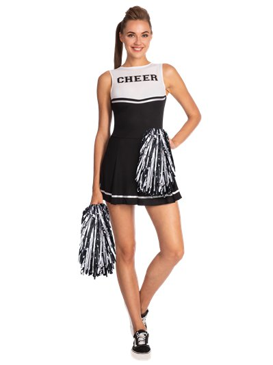 Cheerleader in nero 38-40