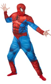 Spider Man deluxe - Costume adulto