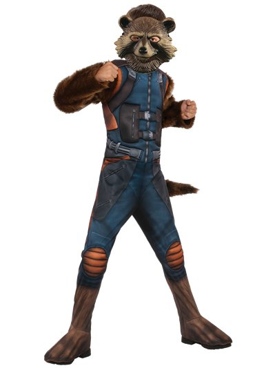 Rocket Racoon Avengers 4 deluxe - 3-4 anni