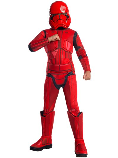 Stormtrooper rosso deluxe 3-4 anni