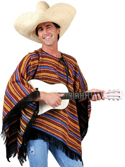 Poncho - Costume Adulto