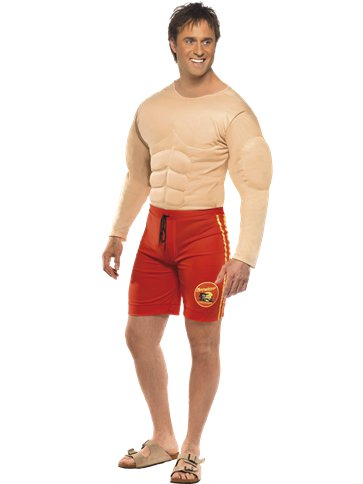 Bagnino Baywatch - Costume Adulto front